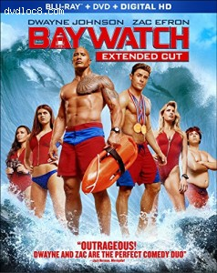 Baywatch (Blu-ray, DVD, Digital HD) Cover