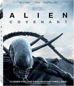 Alien: Covenant [Blu-ray] Cover