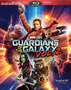 Guardians of the Galaxy Vol. 2 [Blu-ray + DVD + Digital]