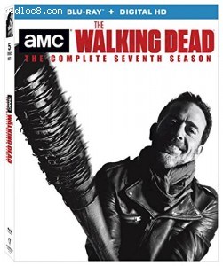 Walking Dead, The: The Complete Seventh Season [Blu-ray + Digital HD] Cover