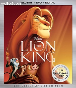 Lion King: Walt Disney Signature Collection [Blu-ray + DVD + Digital]