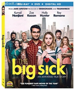 The Big Sick [Blu-ray + DVD + Digital] Cover