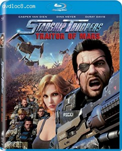 Starship Troopers: Traitor of Mars [Blu-ray] Cover