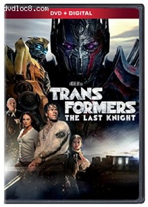Transformers: The Last Knight Cover