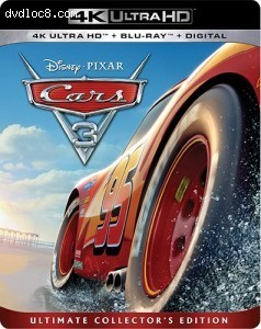 Cars 3 [4K Ultra HD + Blu-ray + UltraViolet]
