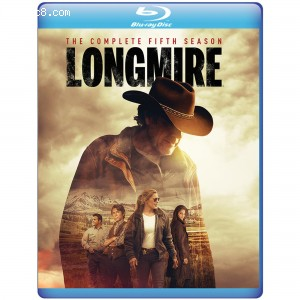 Longmire: The Complete Fifth Season [Blu-ray] Cover