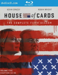 House Of Cards:Season Five (4 Discs) (Blu-ray + UltraViolet) Cover