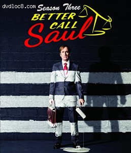 Better Call Saul Season Three (Blu-ray + UltraViolet)