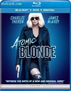 Atomic Blonde [Blu-ray + DVD + Digital] Cover