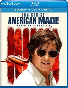 American Made [Blu-ray] Cover