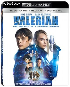Valerian and the City of A Thousand Planets  [4K Ultra HD + Blu-ray + Digital HD]