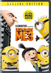 Despicable Me 3 Cover