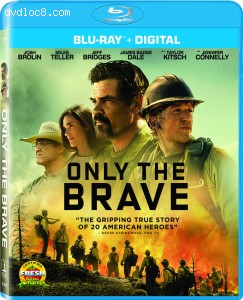 Only the Brave [Blu-ray + Digital] Cover