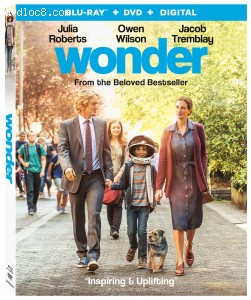 Wonder [Blu-ray + DVD + Digital] Cover