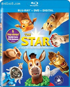 The Star [Blu-ray + DVD + Digital] Cover