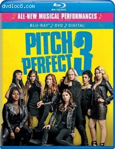 Pitch Perfect 3 [Blu-ray + DVD + Digital] Cover