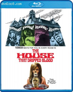 House That Dripped Blood, The [blu-ray] Cover