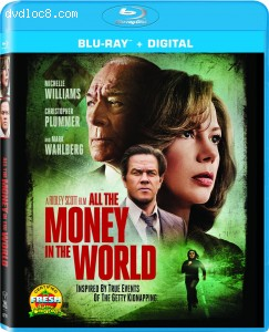 All the Money in the World [Blu-ray + Digital] Cover