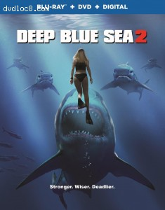 Cover Image for 'Deep Blue Sea 2 [Blu-ray + DVD + Digital]'