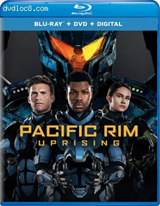 Pacific Rim Uprising [Blu-ray] Cover