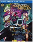 Cover Image for 'Batman Ninja [Blu-ray + DVD + Digital]'