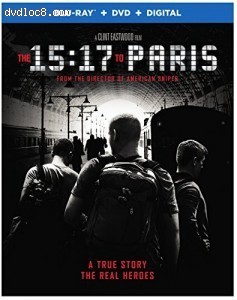 15:17 To Paris, The [Blu-ray + DVD + Digital]