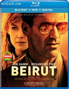 Beirut [Blu-ray] Cover
