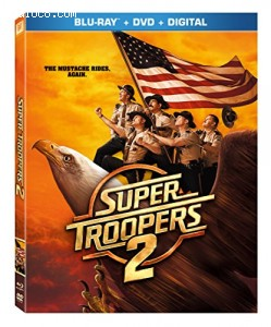Super Troopers 2 [Blu-ray] Cover