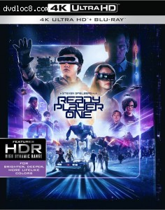 Cover Image for 'Ready Player One [4K Ultra HD + Blu-ray + Digital]'