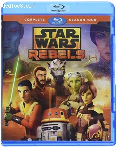 Cover Image for 'Star Wars Rebels: Complete Season Four'