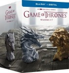 Cover Image for 'Game of Thrones: The Complete Seasons 1-7 [Blu-ray + Digital]'