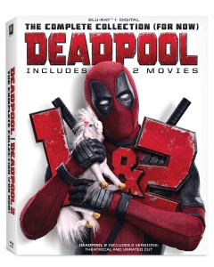 Deadpool: The Complete Collection (For Now) [Blu-ray + Digital] Cover