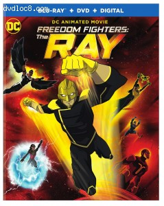 Cover Image for 'Freedom Fighters: The Ray [Blu-ray + DVD + Digital]'
