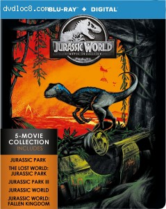 Jurassic World: 5 Movie Collection [Blu-ray + Digital]