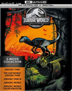 Jurassic World: 5 Movie Collection [4K Ultra HD + Digital] Cover