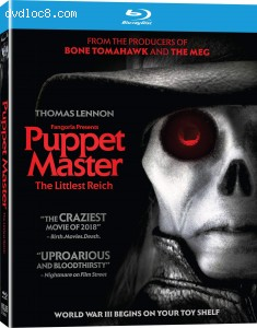 Puppet Master: The Littlest Reich [Blu-ray] Cover