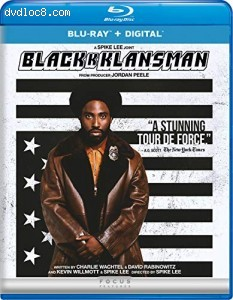 BlacKkKlansman [Blu-ray + Digital] Cover