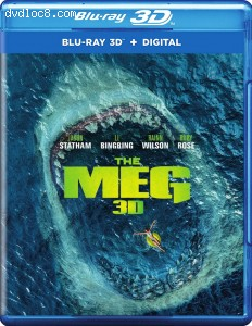 Meg, The (Amazon Exclusive) [Blu-ray 3D + Digital]