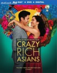 Cover Image for 'Crazy Rich Asians [Blu-ray + DVD + Digital]'