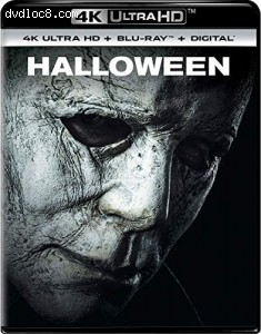 Cover Image for 'Halloween (2018) [4K Ultra HD + Blu-ray + Digital]'