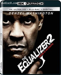 Equalizer 2, The [4K Ultra HD + Blu-ray + Digital] Cover