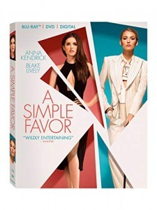 Simple Favor, A [Blu-ray + DVD + Digital] Cover