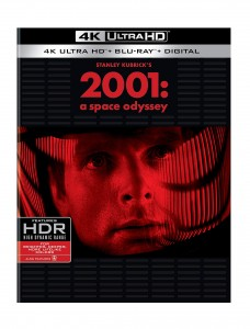 2001: A Space Odyssey [4K Ultra HD + Blu-ray + Digital] Cover
