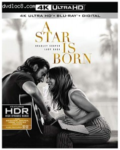 Cover Image for 'Star Is Born, A [4K Ultra HD + Blu-ray + Digital]'