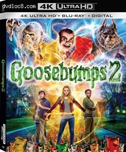 Cover Image for 'Goosebumps 2 [4K Ultra HD + Blu-ray + Digital]'