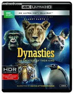 Dynasties  [4K UHD/Blu-ray] Cover