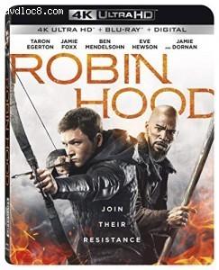 Cover Image for 'Robin Hood [4K Ultra HD + Blu-ray + Digital]'