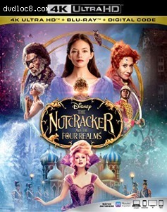 Cover Image for 'Nutcracker and the Four Realms, The [4K Ultra HD + Blu-ray + Digital]'