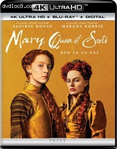 Cover Image for 'Mary Queen of Scots [4K Ultra HD + Blu-ray + Digital]'