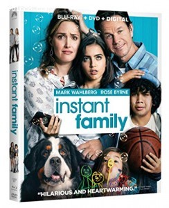 Cover Image for 'Instant Family [Blu-ray + DVD + Digital]'